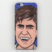 caleb troy iPhone & iPod Skins featuring Troy by turddemon