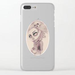 dearpain +Deceptive Seeing+ Clear iPhone Case