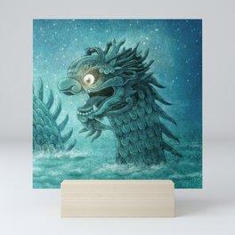 The Dumpling Dragon Mini Art Print