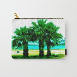 Tropical Tree Trio Carry-All Pouch