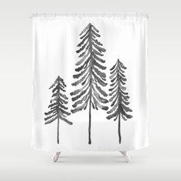 Ski Shower Curtains