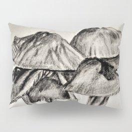 mushroom village sketch Pillow Sham