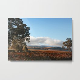 Barossa Valley Sunrise Landscape Metal Print