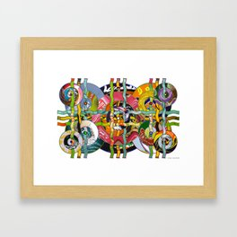 The Problem with Perspective 02 Framed Art Print