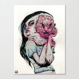 Brain Damage Canvas Print