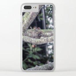 Bleeding Tree Clear iPhone Case