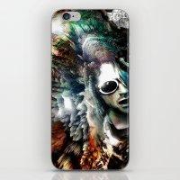 kurt cobain iPhone & iPod Skins featuring Kurt by Tordu Design JS Lajeunesse