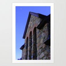 St. Malo Chapel Arches Art Print