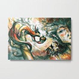 The Exchange Metal Print
