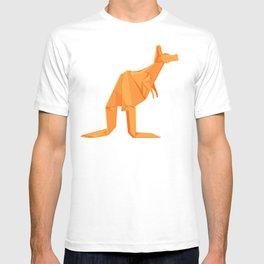 Origami Kangaroo T-shirt