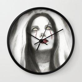 Cristina Scabbia Vampire Bride Wall Clock