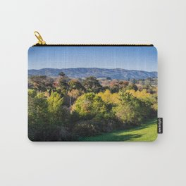 River Bank Trees Carry-All Pouch