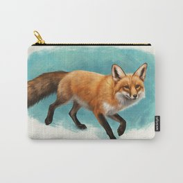 Fox walk Carry-All Pouch