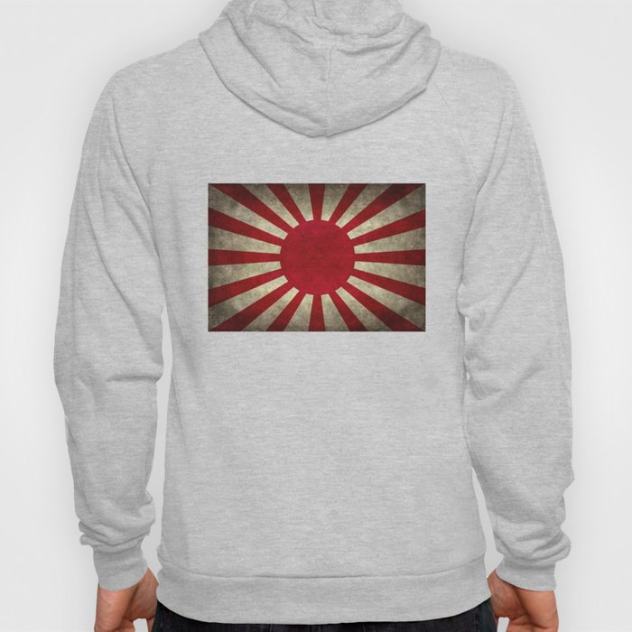 The imperial Japanese Army Ensign Flag Hoody