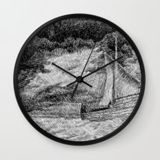 Fingerprint - Sailing Wall Clock
