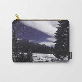 Star Trails in Mount Rainier National Park Carry-All Pouch