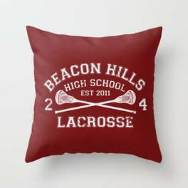 Beacon Hills Lacrosse Throw Pillow