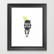 Trapped. Framed Art Print