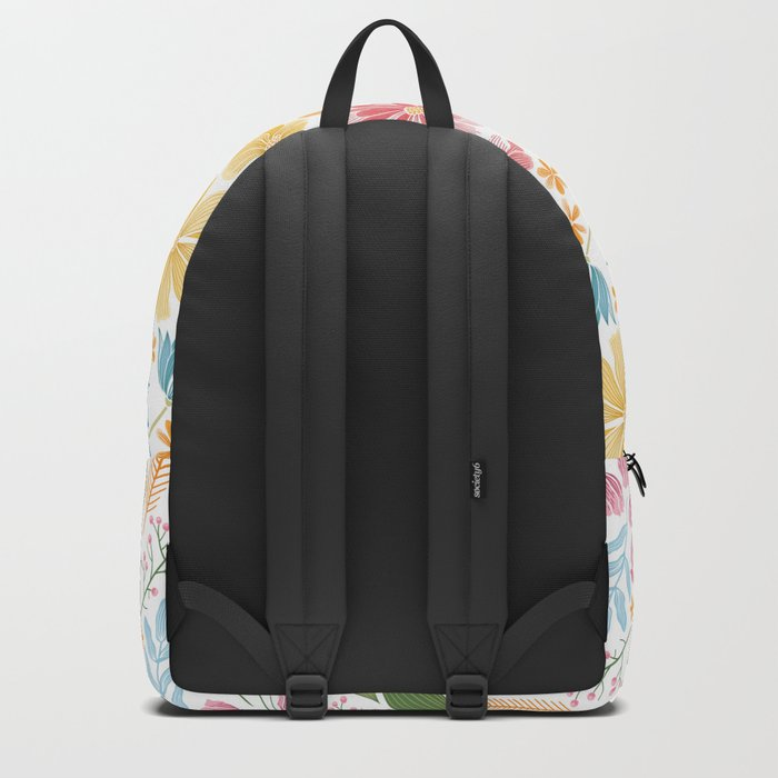 Such Pretty Summer Flowers Backpack