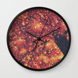 Fall Majesty Wall Clock