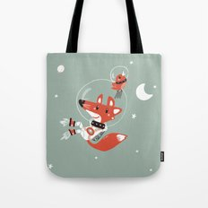 Space Fox Tote Bag