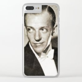 Fred Astaire, Vintage Actor and Dancer Clear iPhone Case