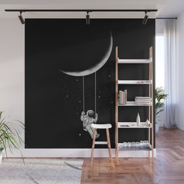Moon Swing Wall Mural
