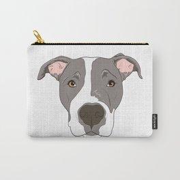 Pitbull Portrait Carry-All Pouch