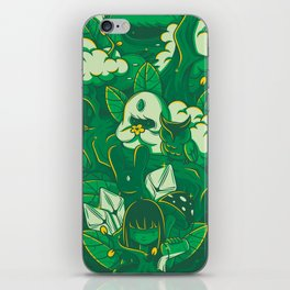 Miracle of life iPhone Skin