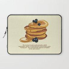Fluffy Pancakes Laptop Sleeve