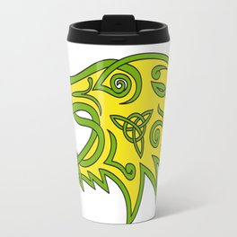 Boar Head Celtic Knot Travel Mug