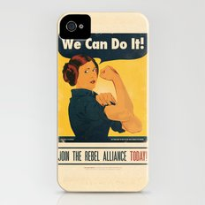 Leia the Riveter 2: The Alliance Strikes Back iPhone (4, 4s) Slim Case