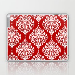 Red Damask Laptop & iPad Skin