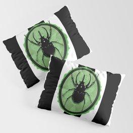 Juicy Beetle GREEN Pillow Sham