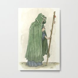 The Crone  Metal Print