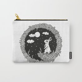 Nightseries_Bunny Carry-All Pouch