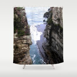 Devil's Kitchen Shower Curtain
