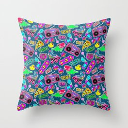 Back to the nineties. Throw Pillow