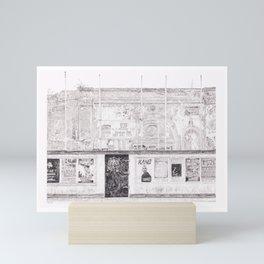 The Venue Mini Art Print