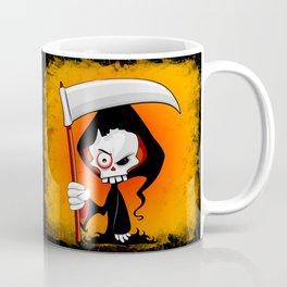 Grim Reaper Creepy Cartoon Character Coffee Mug