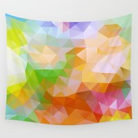 candy Wall Tapestries featuring Candy by Veronika