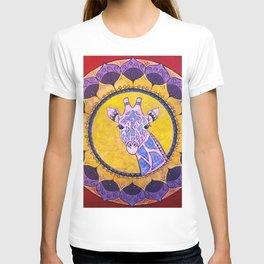 Compassion - Giraffe Mandala T-shirt