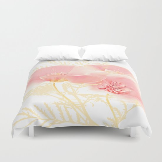 Poppies(gentle) Duvet Cover