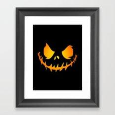 Evil Black Jack Framed Art Print