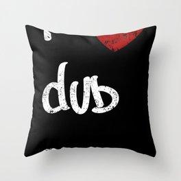 Dub Throw Pillow