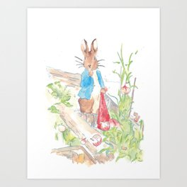 Peter Rabbit Art Print