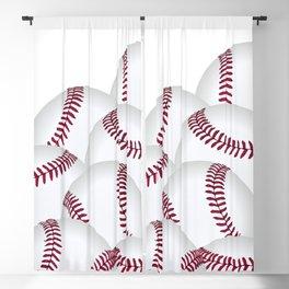 Pile of Baseballs  Blackout Curtain