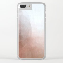 Gay Abstract 08 Clear iPhone Case
