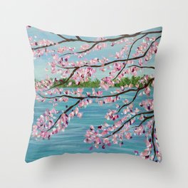 Spring is in the Air... So is Pollen Throw Pillow