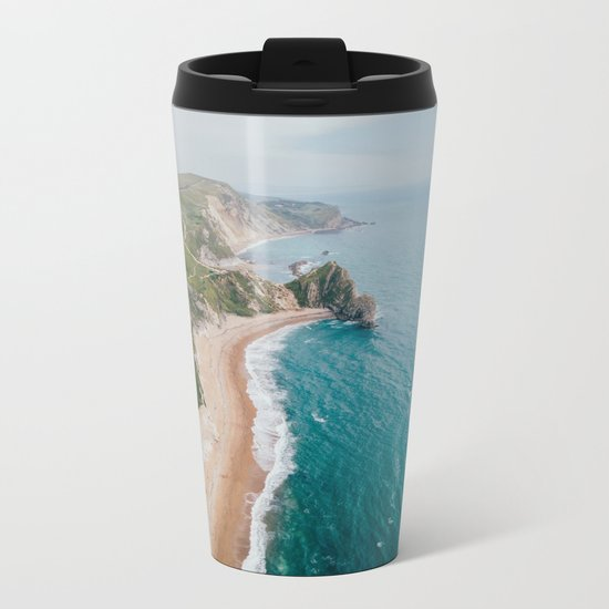 Coastal Drive Metal Travel Mug